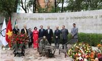 Lễ khánh thành Tượng Đài Chủ tịch Hồ Chí Minh ở Mexico