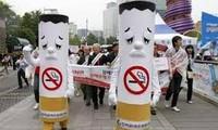 Ngành Giáo dục- Đào tạo mít tinh hưởng ứng Ngày Thế giới không thuốc lá