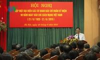 Hà Nội gặp mặt đại diện các cơ quan báo chí