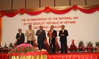 Hoạt động kỷ niệm 70 năm Cách mạng Tháng Tám và Quốc khánh 2/9 tại nhiều nước