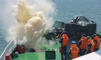 Cảnh sát biển Việt Nam và Ấn Độ tập luyện tìm kiếm cứu nạn trên biển