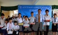 Campuchia: Học sinh Việt kiều tại Phnom Penh khai giảng năm học mới