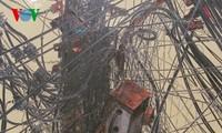 Họa sĩ Nguyễn Ngọc Dân và đề tài dây điện trên phố Hà Nội