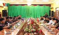 Đoàn công tác Ban chỉ đạo Tây Nam Bộ thăm và làm việc tại Campuchia