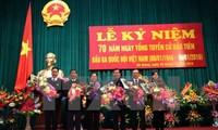 Các địa phương tổ chức kỷ niệm 70 năm ngày Tổng tuyển cử đầu tiên