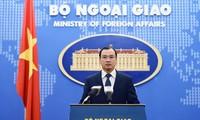 Việt Nam phản đối việc lãnh đạo Đài Loan đến đảo Ba Bình thuộc quần đảo Trường Sa của Việt Nam