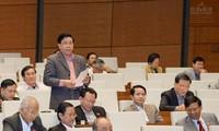 Quốc hội thảo luận Luật thuế xuất khẩu, thuế nhập  khẩu (sửa đổi)