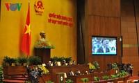 Quốc hội tiếp tục tiến hành quy trình kiện toàn chức danh lãnh đạo Nhà nước