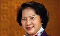 Lãnh đạo các nước chúc mừng Chủ tịch Quốc hội Nguyễn Thị Kim Ngân