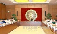 Phiên họp lần thứ ba của Tiểu ban an ninh, trật tự, an toàn xã hội của Hội đồng bầu cử quốc gia