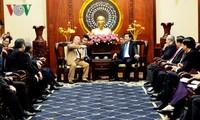 Bí thư Thành ủy Thành phố Hồ Chí Minh tiếp Cố vấn đặc biệt của Thủ tướng Nhật Bản