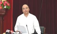 Thủ tướng Nguyễn Xuân Phúc làm việc với lãnh đạo tỉnh Lai Châu