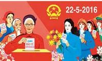 Hơn 69 triệu cử tri cả nước sẽ đi bầu cử đại biểu Quốc hội và Hội đồng nhân dân các cấp
