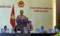 Khai mạc phiên họp thứ 48 Ủy ban Thường vụ Quốc hội