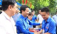 Tuổi trẻ Thủ đô hoạt động tình nguyện tại Vientiane, Lào