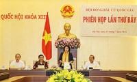 Phiên họp thứ 7 Hội đồng Bầu cử quốc gia