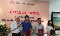 Trao giải thưởng Hội Mỹ thuật Việt Nam năm 2016 cho 4 tác phẩm xuất sắc
