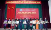 30 tổ chức phi chính phủ nước ngoài tiêu biểu được khen thưởng