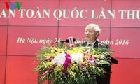 Tổng Bí thư Nguyễn Phú Trọng dự khai mạc Hội nghị Công an toàn quốc