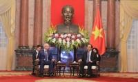 Chủ tịch nước Trần Đại Quang tiếp Thủ tướng chính quyền Bashkotostan thuộc Nga R.Kh.Mardanov
