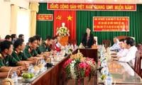 Chủ tịch Quốc hội Nguyễn Thị Kim Ngân thăm, chúc Tết tại tỉnh Bến Tre