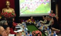Trưởng ban Dân vận Trung ương chúc Tết Trung ương Hội Người cao tuổi Việt Nam