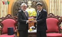 Hãng tin toàn cầu AFP trao đổi, tìm hướng hợp tác toàn diện với Đài Tiếng nói Việt Nam