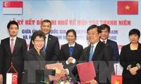 Tăng cường hợp tác thanh niên Việt Nam - Singapore