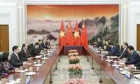 Chủ tịch nước Trần Đại Quang hội kiến với Thủ tướng Lý Khắc Cường