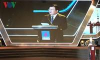 Phó Thủ tướng Trịnh Đình Dũng dự lễ kỉ niệm 10 năm thành lập Tổng Công ty thăm dò khai thác dầu khí