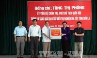 Phó Chủ tịch Quốc hội Tòng Thị Phóng làm việc tại tỉnh Sơn La