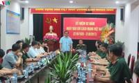 Bí thư thành ủy Hà Nội Hoàng Trung Hải thăm, chúc mừng báo Quân đội nhân dân
