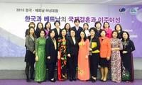 Diễn đàn Phụ nữ Việt Nam - Hàn Quốc