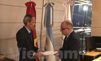 Argentina đánh giá cao thành tựu vượt bậc của Việt Nam