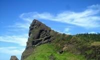 Vẻ đẹp núi Thới Lới  trên đảo Lý Sơn