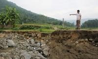 8 người chết và mất tích do mưa lũ ở các tỉnh miền núi phía Bắc