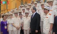 Lực lượng cảnh sát nhân dân phát huy sức mạnh tổng hợp,giữ vững an ninh quốc gia trật tự,an toàn XH