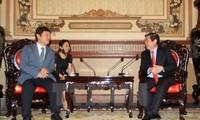Thành phố Hồ Chí Minh thúc đẩy hợp tác với Hàn Quốc, Nhật Bản trong các lĩnh vực