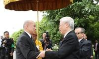 Việt Nam-Campuchia: phát huy tình đoàn kết hữu nghị truyền thống và hợp tác toàn diện