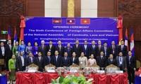 Ủy ban Đối ngoại Quốc hội Campuchia, Lào và Việt Nam cam kết tăng cường hợp tác