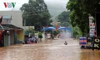 Thông tin về tình hình mưa lũ ở Sơn La và Yên Bái