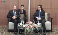 Trưởng Ban Tuyên giáo Trung ương Võ Văn Thưởng tiếp đoàn đại biểu nhân dân cách mạng Lào