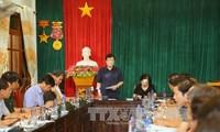 Phó Thủ tướng Trịnh Đình Dũng chỉ đạo khắc phục hậu quả thiên tai tại Mù Cang Chải