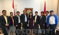 Đại sứ Việt Nam tại Hà Lan Ngô Thị Hòa tiếp đoàn đại biểu tỉnh An Giang thăm làm việc tại Hà Lan