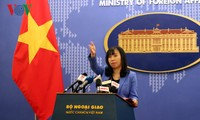 Việt Nam đề nghị Trung Quốc không lặp lại các hành động làm phức tạp tình hình tại Biển Đông