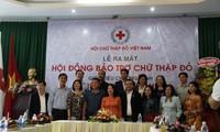 Ra mắt Hội đồng Bảo trợ hoạt động Chữ thập đỏ Việt Nam