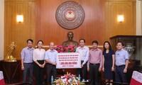 Ủy ban Trung ương MTTQ Việt Nam tiếp nhận ủng hộ thiệt hại do bão Doksuri
