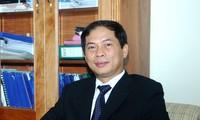 Thứ trưởng Bộ Ngoại giao Bùi Thanh Sơn tiếp Đại sứ Bulgaria