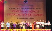 Việt Nam kỷ niệm ngày Quốc tế Người cao tuổi 01/10