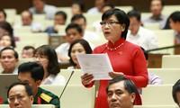 Quốc hội thảo luận công tác phòng chống tham nhũng